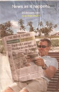 Cén cineál leitheoir atá álorg ag an Irish Times na laethannta seo?
