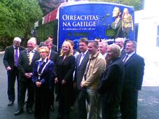 Bus an Oireachtais