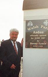 Danny Lynch, iar Oifigeach Caidrimh Poibli an GAA