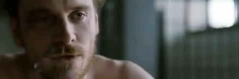 Michael Fassbender i bpáirt Bobby Sands i 'Hunger'