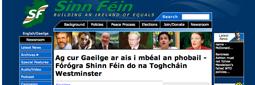 Cad is fiú na geallúinti seo má tá lámh ag SF i mbás Lá Nua agus eagrais Ghaeilge eile ina dhiaidh sin?
